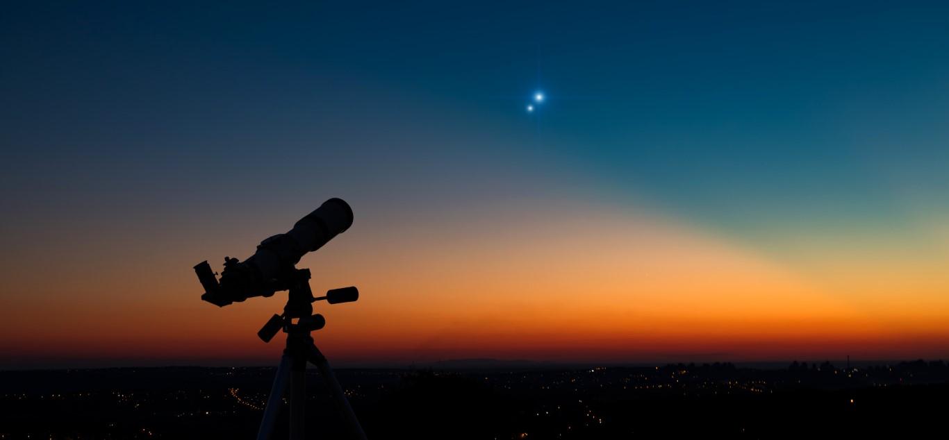 Jupiter est le quatrième objet le plus brillant du système solaire