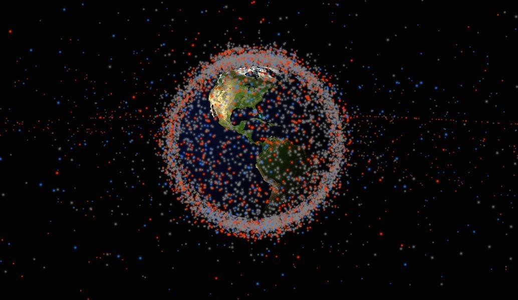 satellites sont en orbite autour de la Terre