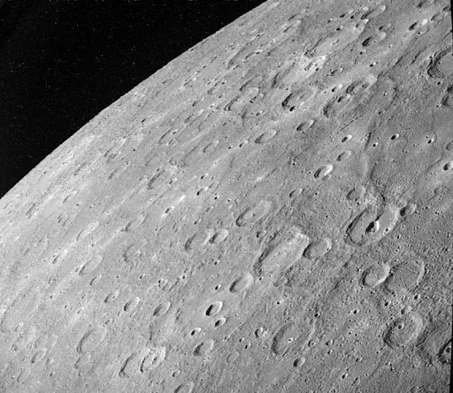 surface de Mercure