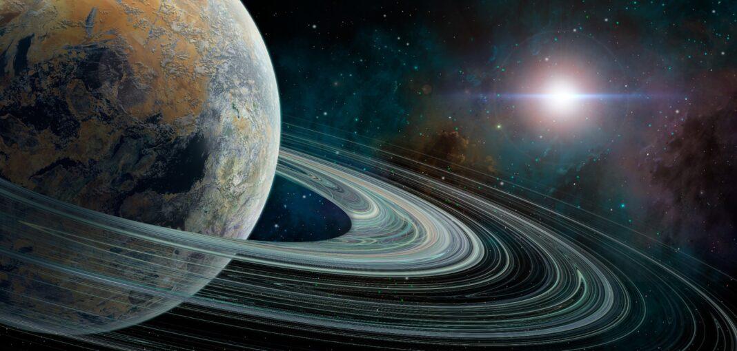 planète avec anneau